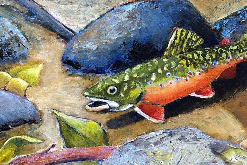 West Union Art Studios Fish