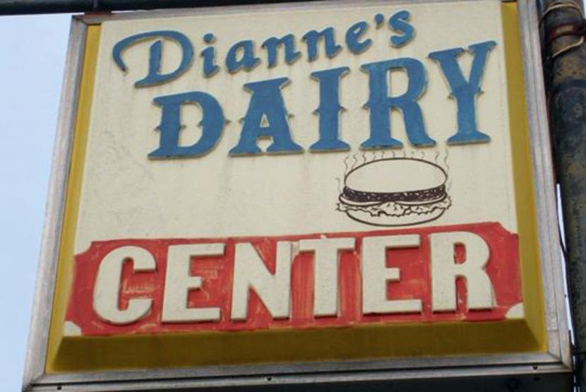 Dairy Center Sign