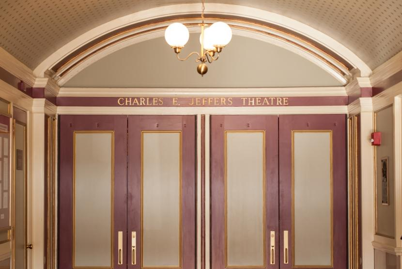 Inside Door to Theatre