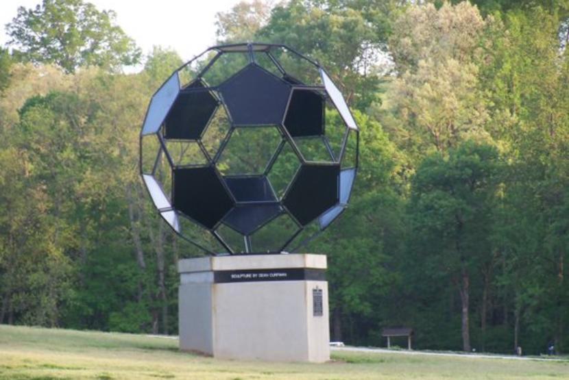 Soccer Ball Statue