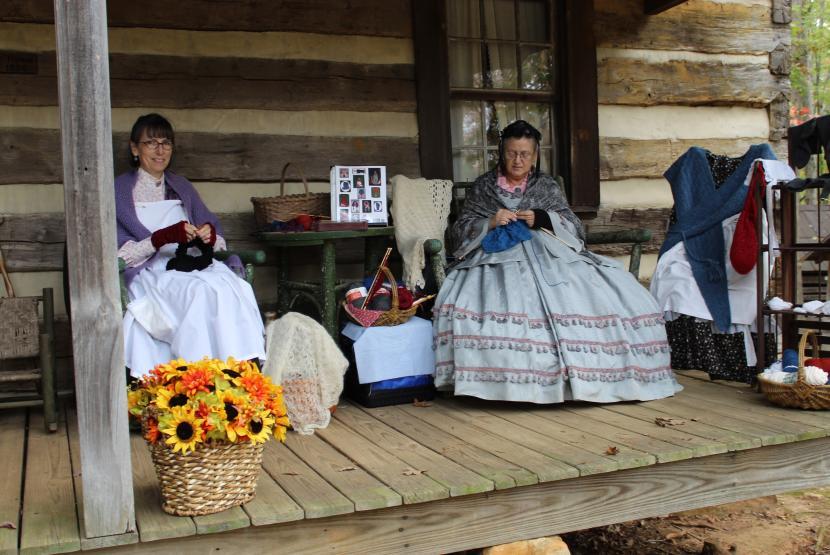 Ladies on Porch