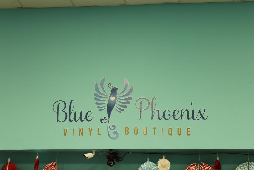 Blue Phoenix Vinyl