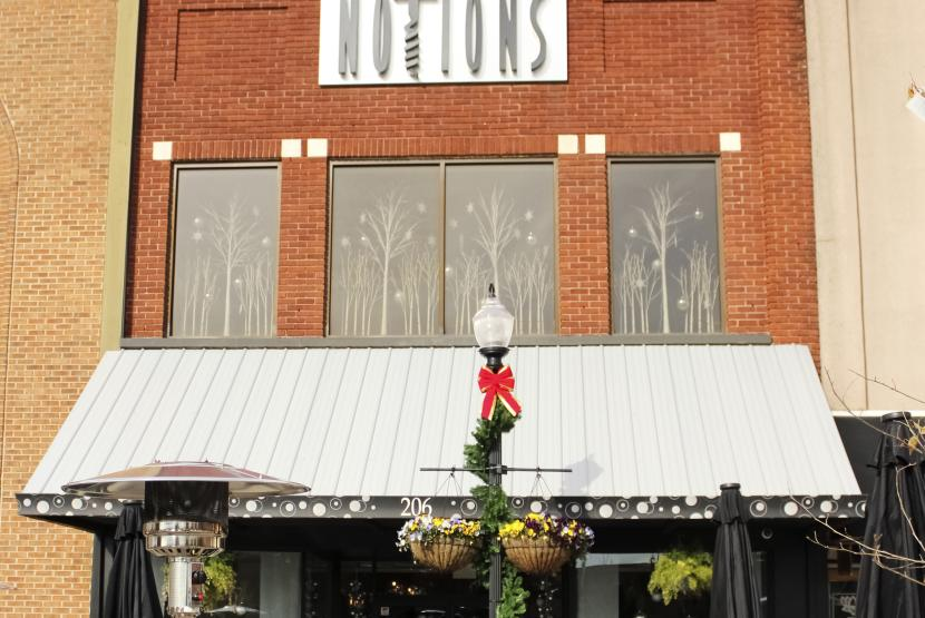 Notions Store Front