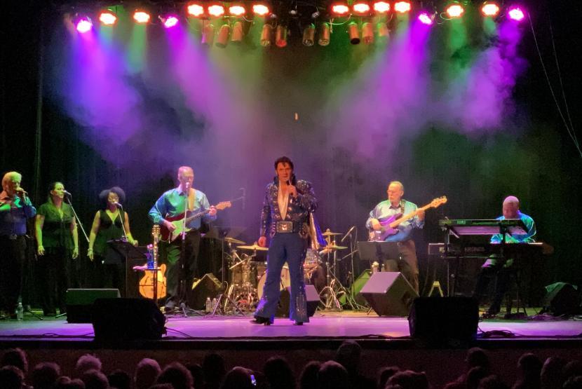 Stephen Freeman, Elvis Tribute Concert
