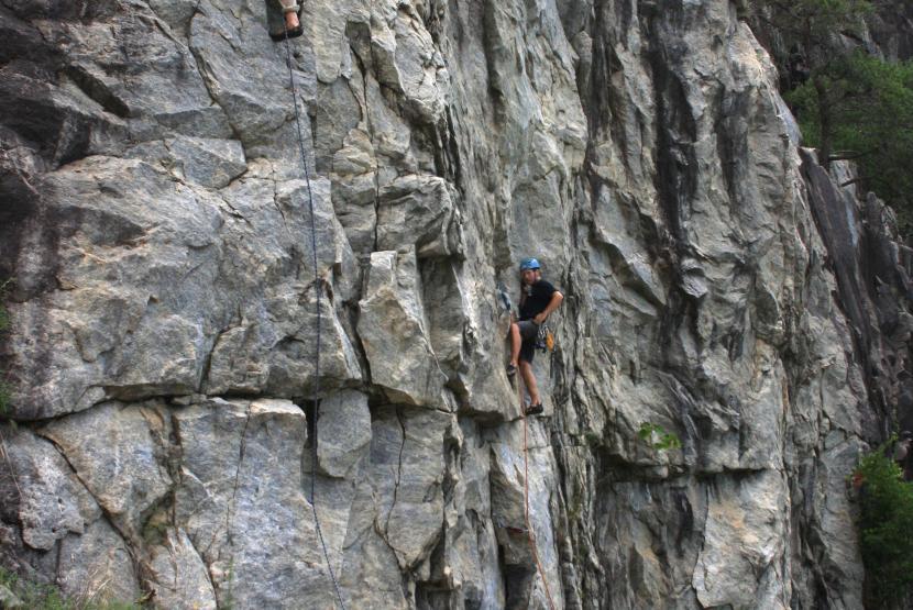 Rocky Face Recreational Park Rock Climbing