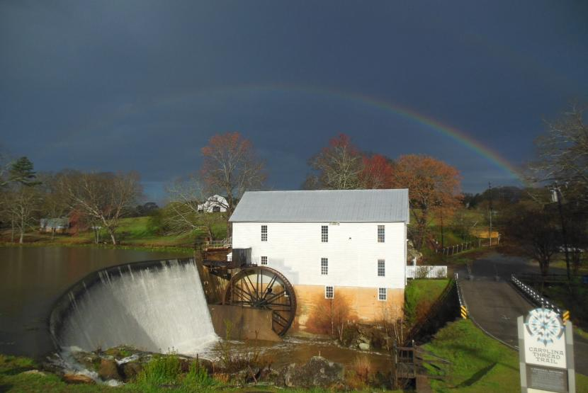 Rainbow Over Mill