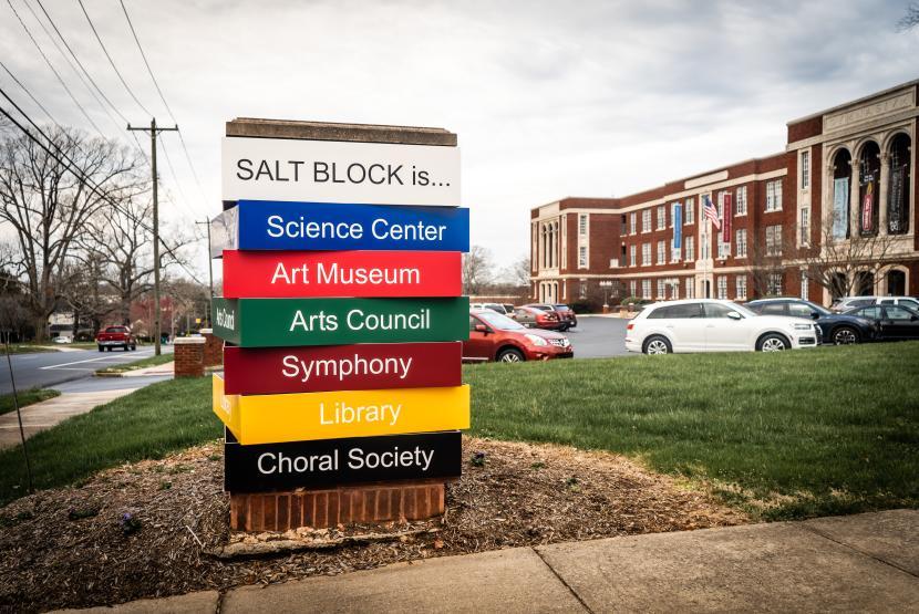 SALT Block Exterior