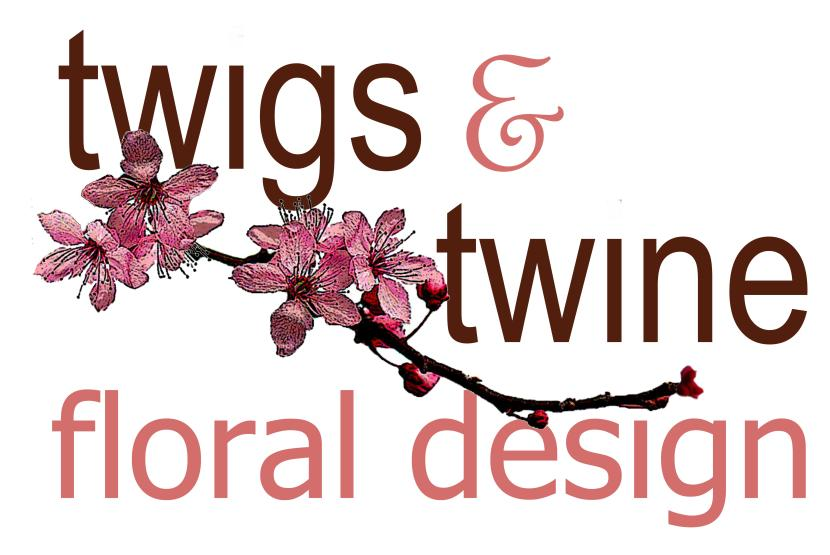 Twigs and Twine Floral Design Logo