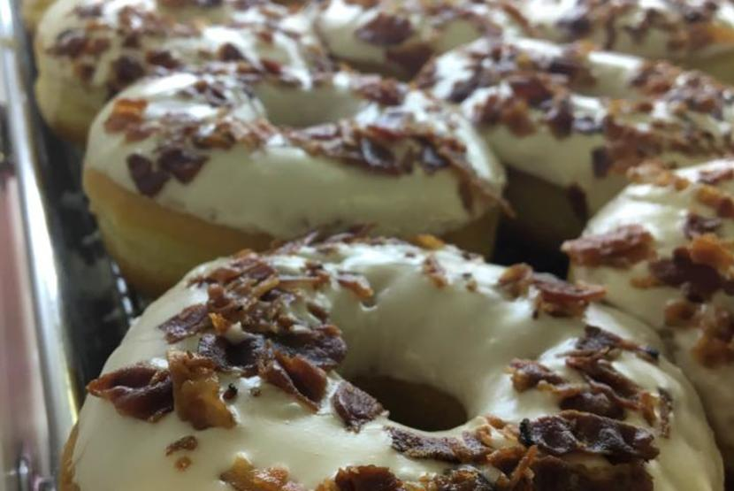 Donut Life Maple Bacon Donuts