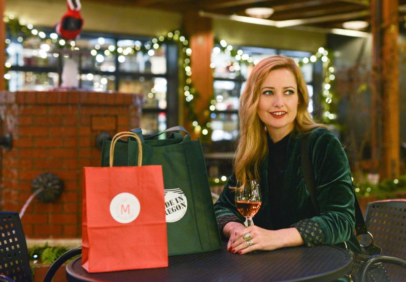 Holiday Shopping at 5th Street Public Market by Melanie Griffin
