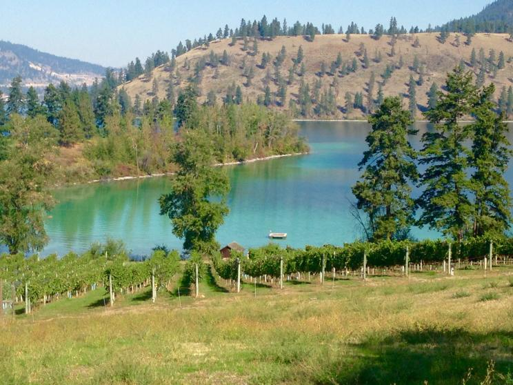 Turquoise Kalamalka Lake