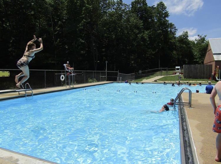 DeSoto State Park pool