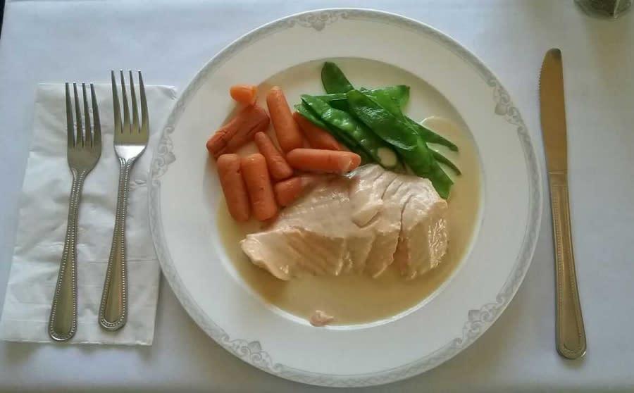 Chez Yasu _ Salmon dinner