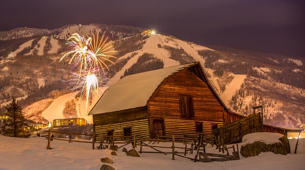 Winter Barn Fireworks Wetzel 2019