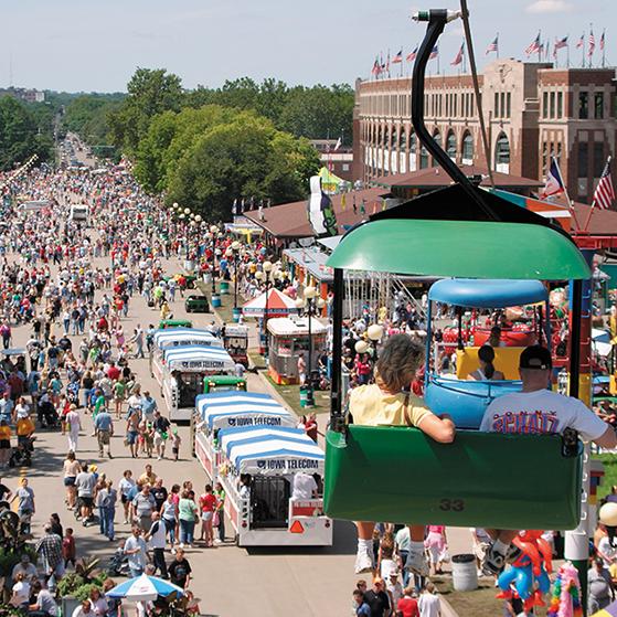 Catch Des Moines - Iowa State Fair