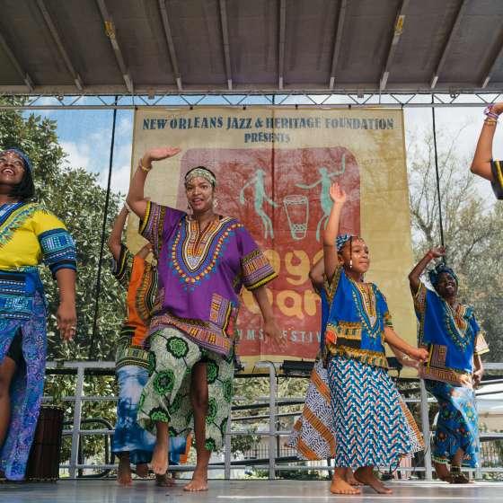 Congo Square New World Rhythms Festival