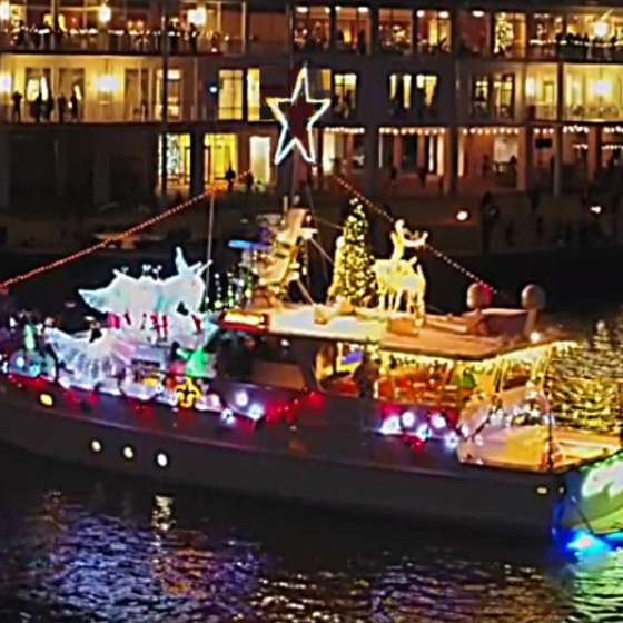 West End Christmas Boat Parade