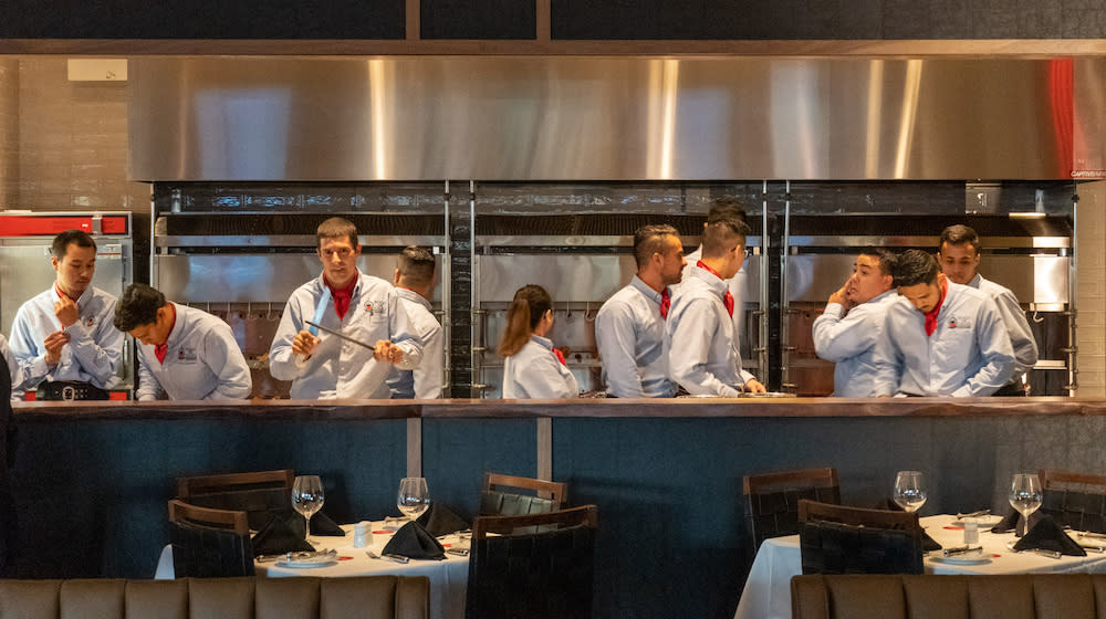 Fogo de Chao Open Kitchen