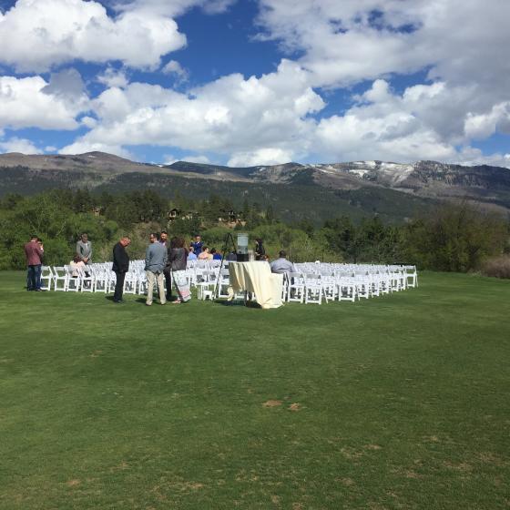 Glacier Helipad Ceremony