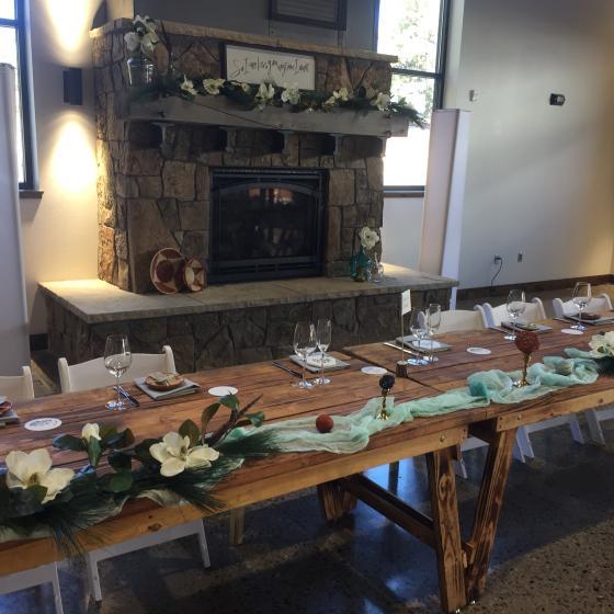 Wedding Reception Prospector Hall
