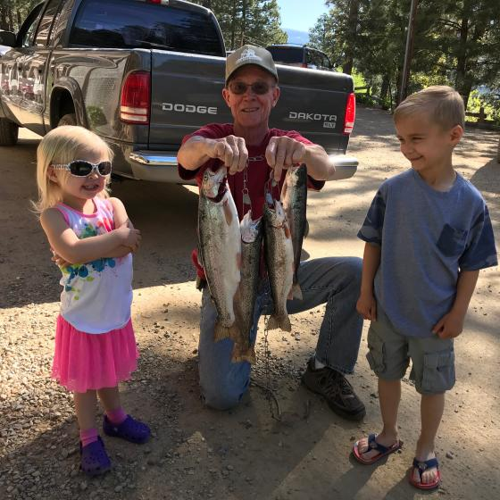 Fishing on Vallecito Lake