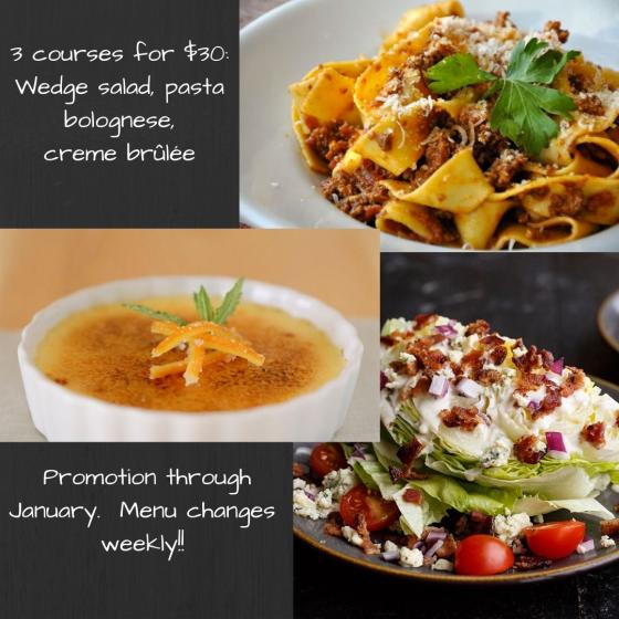 3 courses for $30 promo