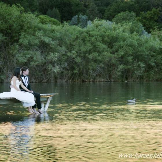 Bride_and_Groom_at_Lake_River_Bend_Ranch_Durango_Photographers