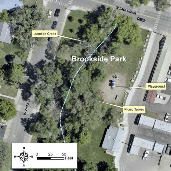 Brookside Park Map
