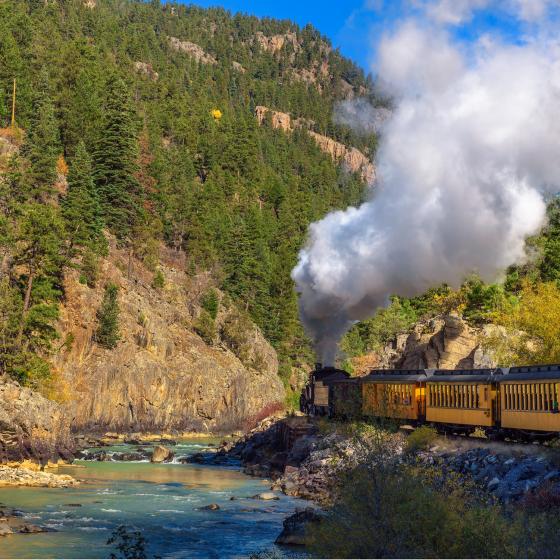 Cascade Canyon Express Train Ride