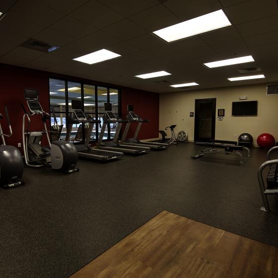 Oversize fitness Center