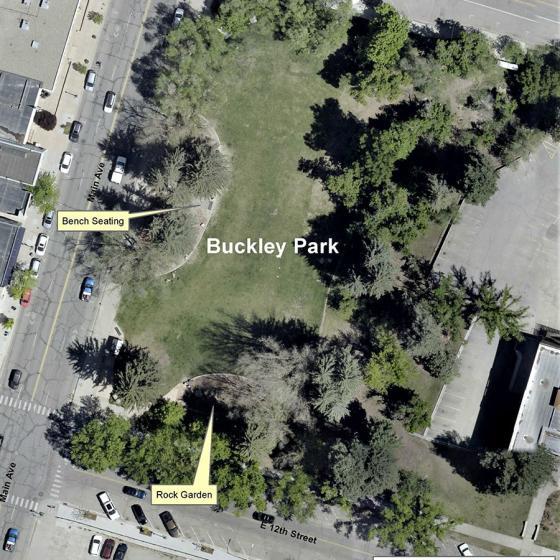 Buckley Park Map