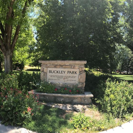Buckley Park Sign