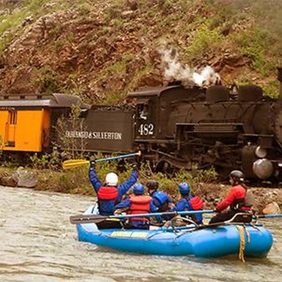 Durango Train Raft & Rail Package