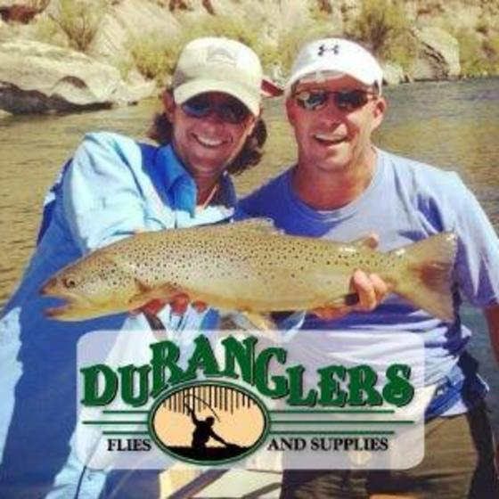 San_Juan_River_Brown_Trout_Duranglers_Logo