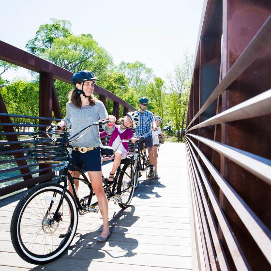 Tandem_bike_rental_Family_Animas_RiverTrail