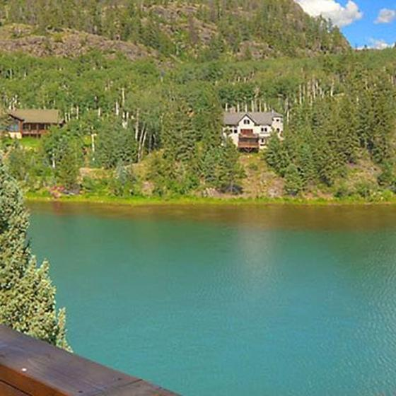 View_of_Columbine_Lake_from_Deck_at_Lake_View_House_Vacation_Rental_Home_Durango_Colorado_3080