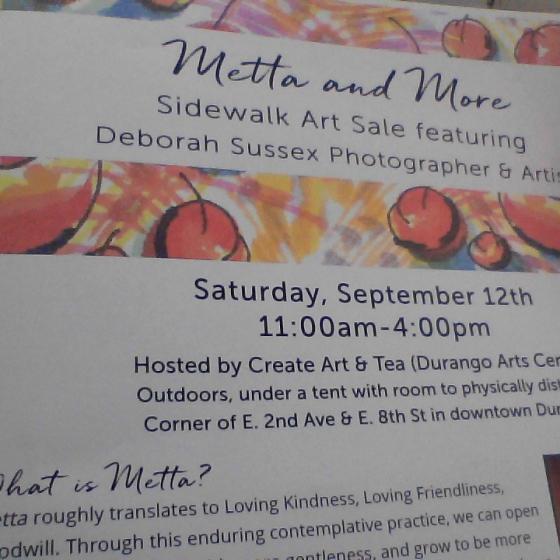 Deborah Sussex Art Show At Create Art and Tea