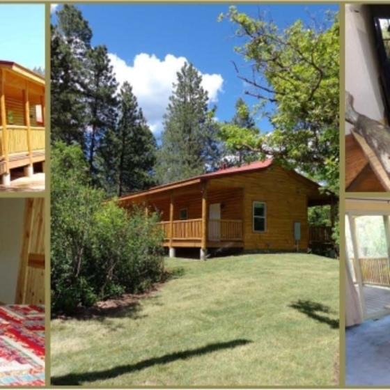 Guest Cabin Collage