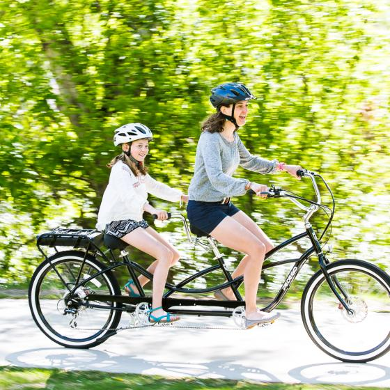 Mother Daughter ebike ride