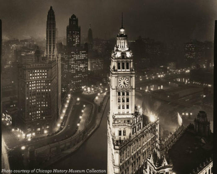 Michigan and Wacker in 1920s