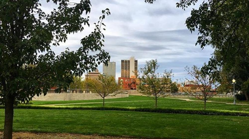 Tom Boyer's Downtown Fort Wayne Fall Photo
