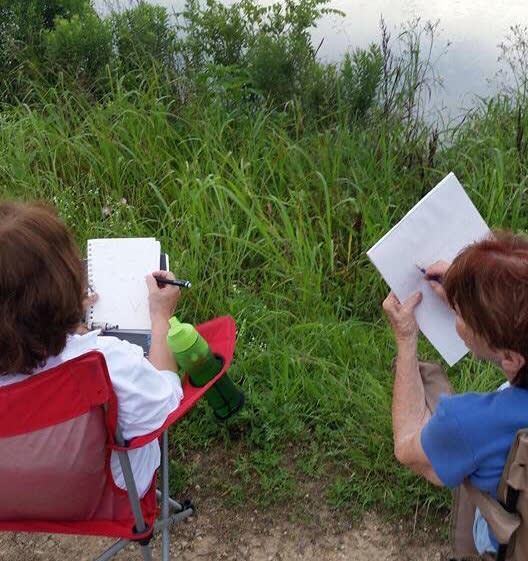 Cattail Marsh Nature Journaling
