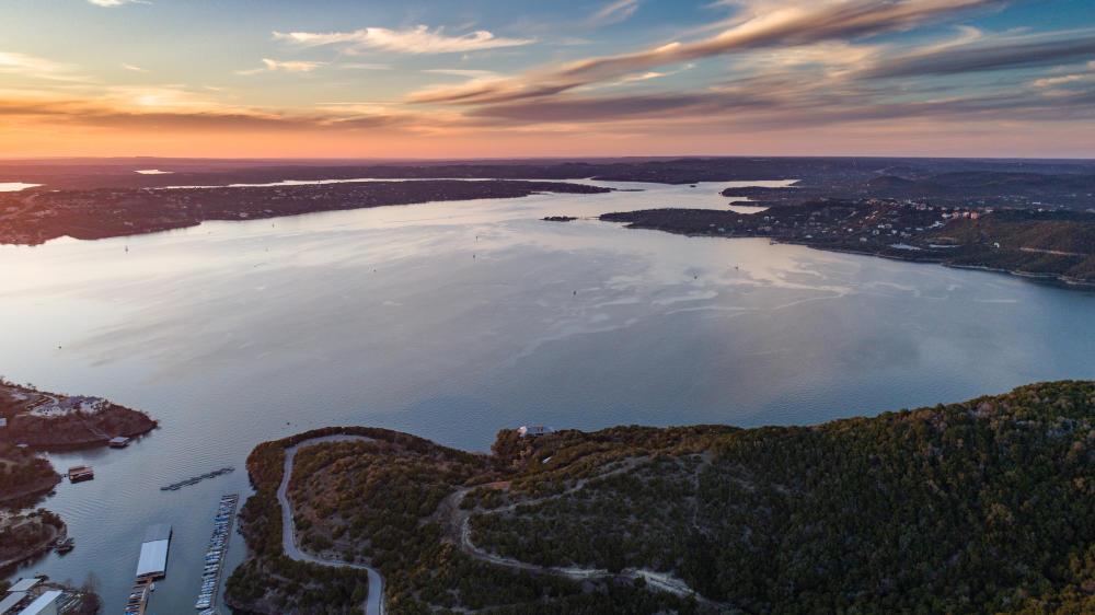 Lake Travis at sunset