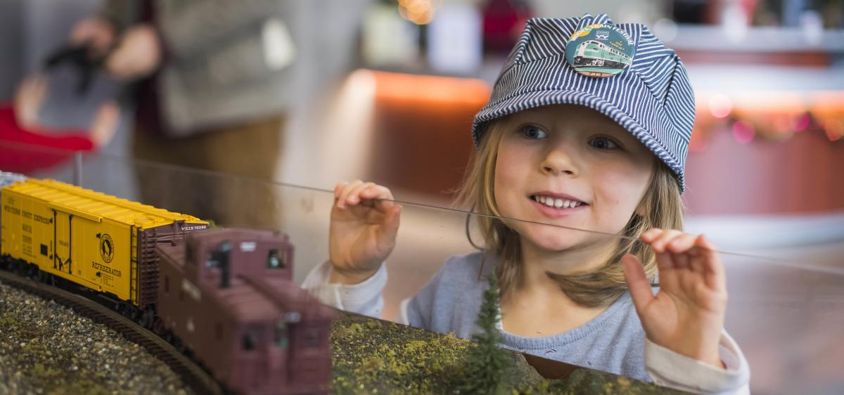 Model Train Festival at Washington State History Museum