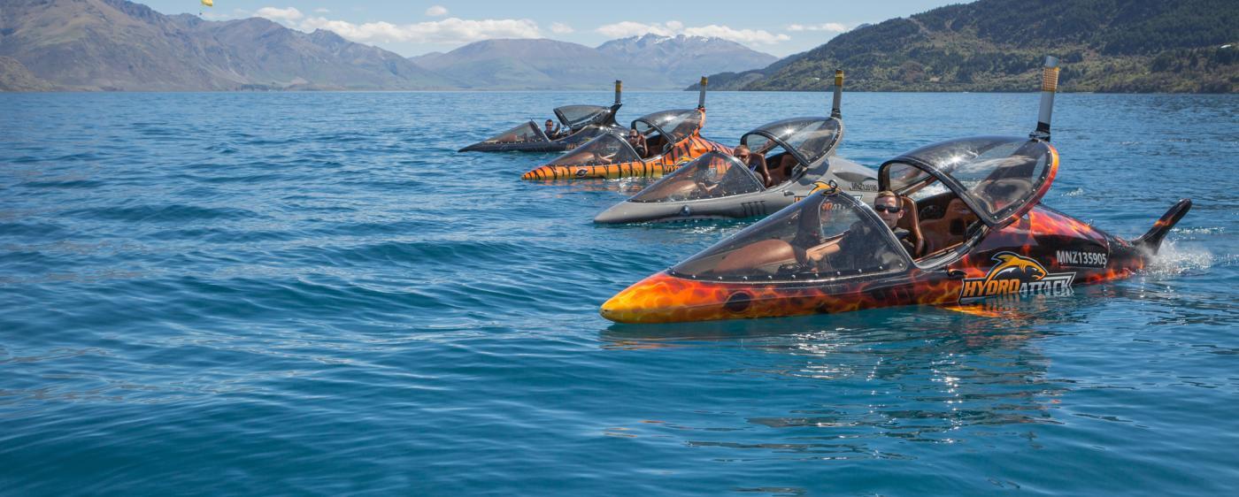 The Hydro Attack Fleet
