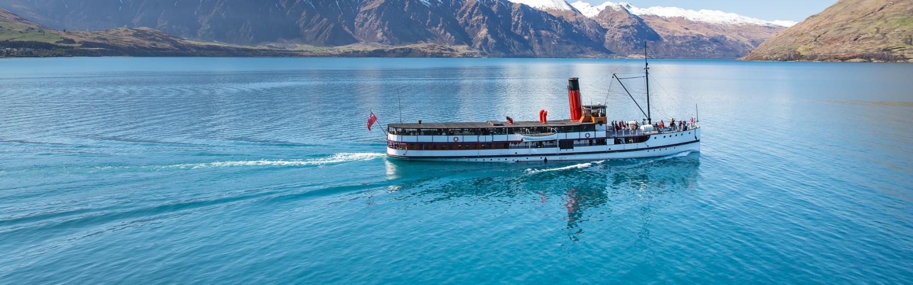 TSS Earnslaw Vintage Steamship Lake Cruises - Real Journeys