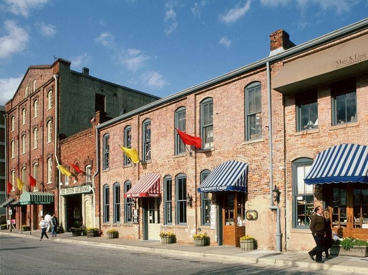 Cotton Exchange in historic downtown Wilmington