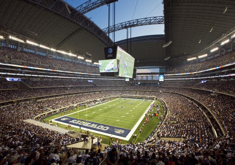 AT&T Stadium inside