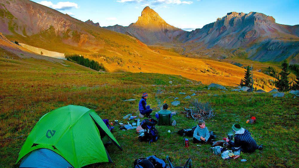 Wetterhorn Camping