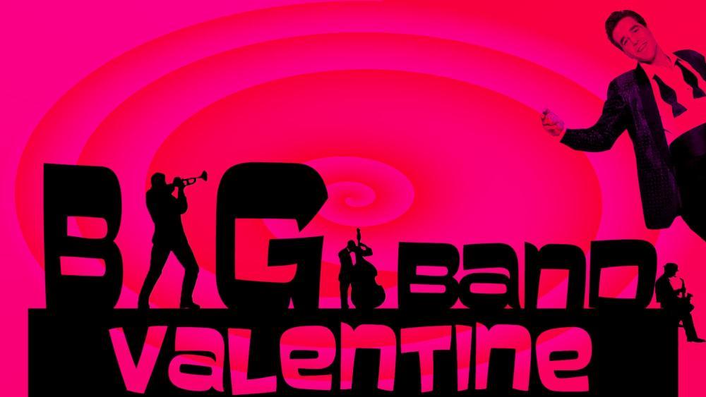 Poster for Big Band Valentine at Wichita Grand Opera
